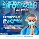 12 DE MAIO DE 2021 - DIA INTERNACIONAL DA ENFERMAGEM