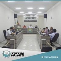 A Câmara de Vereadores de Acari realizou a 4ª sessão ordinária nesta terça-feira (21) Foram aprovados dois Projetos de Lei e quatro indicações