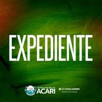 A Câmara Municipal de Acari divulga a seguir as matérias que darão entrada no Expediente da 2ª Sessão Ordinária