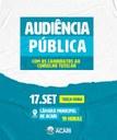 Audiência Pública com os candidatos ao Conselho Tutelar