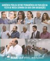 AUDIÊNCIA PÚBLICA DEFINE PERMANÊNCIA DO PAVILHÃO DA FESTA DE NOSSA SENHORA DA GUIA COM ADEQUAÇÕES.