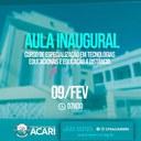 AULA INAUGURAL DE CURSO DE ESPECIALIZAÇÃO PARA PROFESSORES ACARIENSES ACONTECE NESTE SÁBADO NA CÂMARA MUNICIPAL