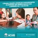 CÂMARA CIDADÃ: CRIANÇAS E ADOLESCENTES ACARIENSES SÃO BENEFICIADOS COM A EMISSÃO DA 1ª VIA DO RG.