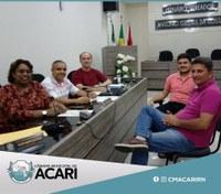 CÂMARA DE ACARI REALIZA PRIMEIRA REUNIÃO PARA AVALIAR COMISSÃO DO HINO MUNICIPAL DA CIDADE