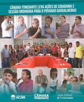 CÂMARA ITINERANTE LEVA AÇÕES DE CIDADANIA E SESSÃO ORDINÁRIA PARA O POVOADO GARGALHEIRAS.