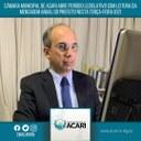 CÂMARA MUNICIPAL DE ACARI ABRE PERÍODO LEGISLATIVO COM LEITURA DA MENSAGEM ANUAL DO PREFEITO NESTA TERÇA- FEIRA (02)