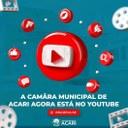 CÂMARA MUNICIPAL DE ACARI AGORA ESTÁ NO YOUTUBE