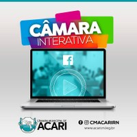 CÂMARA MUNICIPAL DE ACARI COMEÇA A TRANSMITIR SESSÕES PELO FACEBOOK