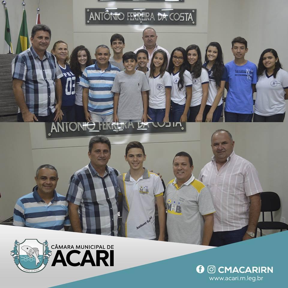 CÂMARA MUNICIPAL DE ACARI DIVULGA RESULTADO FINAL DAS ELEIÇÕES DA CÂMARA MIRIM