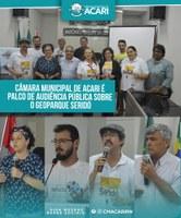 CÂMARA MUNICIPAL DE ACARI É PALCO DE AUDIÊNCIA PÚBLICA SOBRE O GEOPARQUE SERIDÓ
