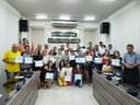 Câmara Municipal de Acari entrega 50 certificados a alunos de Informática do Telecentro