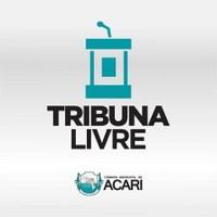 CÂMARA MUNICIPAL DE ACARI INICIA PROJETO TRIBUNA LIVRE EM MARÇO; INSCRIÇÕES ESTÃO ABERTAS.