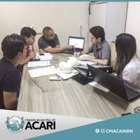 CÂMARA MUNICIPAL DE ACARI PLANEJA CRONOGRAMA DO PROJETO CÂMARA MIRIM