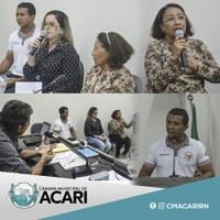 CÂMARA MUNICIPAL DE ACARI PROMOVE MESA REDONDA SOBRE PROBLEMÁTICA DAS DROGAS