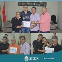 CÂMARA MUNICIPAL DE ACARI REALIZA SOLENIDADE DE ENTREGA DE CERTIFICADOS DE CONCLUSÃO DOS CURSOS DE LIBRAS E INFORMÁTICA