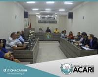 Câmara Municipal de Acari sedia reunião com o superintendente do Banco do Brasil