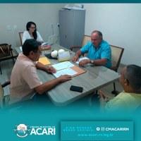 Comissão de Constituição, Legislação, Justiça, Finanças e Tributação da Câmara Municipal de Acari se reuniu