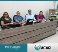 COMISSÃO DE REVISÃO DA LEI ORGÂNICA E DO REGIMENTO INTERNO DA CÂMARA MUNICIPAL DE ACARI REALIZA PRIMEIRA REUNIÃO