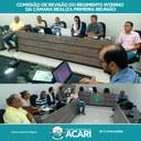 COMISSÃO DE REVISÃO DO REGIMENTO INTERNO DA CÂMARA REALIZA PRIMEIRA REUNIÃO