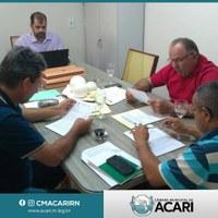 COMISSÃO SE REÚNE PARA ANALISAR PROJETOS DO LEGISLATIVO E EXECUTIVO