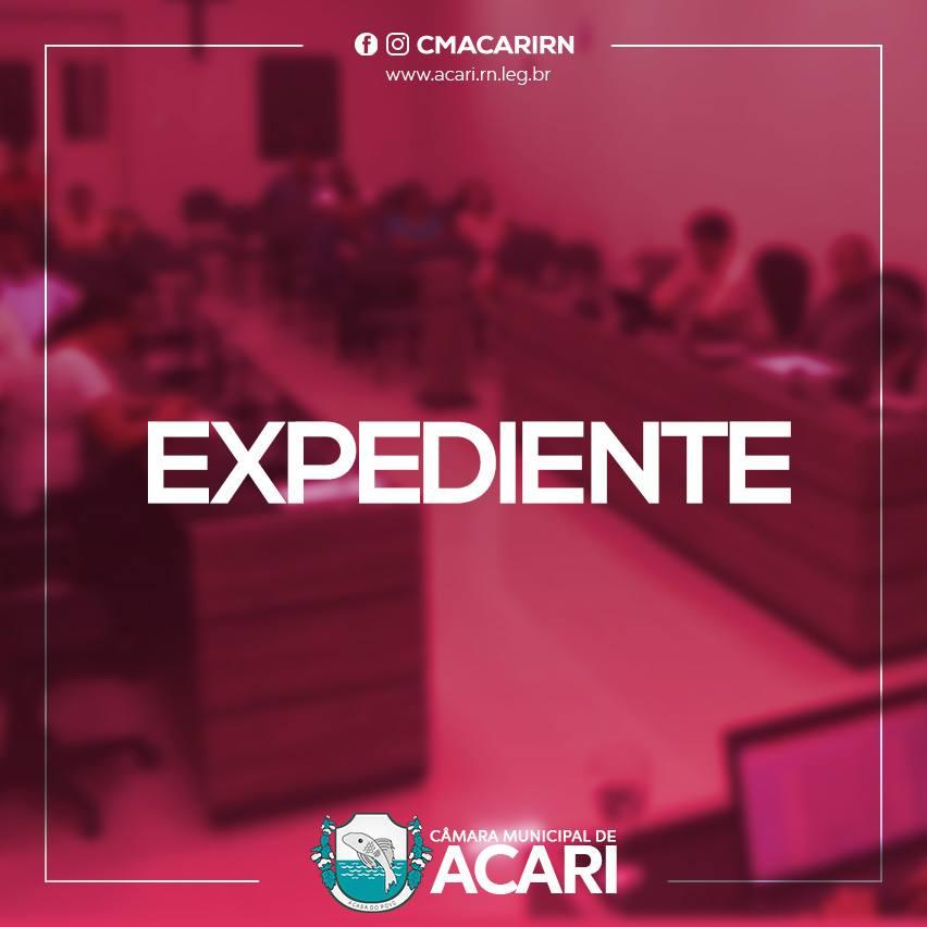Confira as matérias que darão entrada no Expediente da 13ª Sessão Ordinária do 1º período legislativo de 2017
