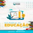 DIA 28 DE ABRIL - DIA MUNDIAL DA EDUCAÇÃO