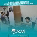 ELEIÇÃO DA CÂMARA MIRIM ACONTECE NESTA SEXTA-FEIRA NA CÂMARA MUNICIPAL DE ACARI