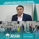 EM REUNIÃO NA CÂMARA MUNICIPAL DE ACARI, COORDENADOR DO PROCON TRAZ ESPERANÇA DA REABERTURA DO BANCO DO BRASIL
