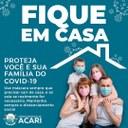 FIQUE EM CASA ! 🏠