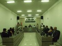 Fotos da entrega do Título de Cidadão Acariense