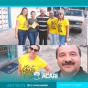 José Rivaldo Lima, prestigiou a programação em alusão ao Setembro Amarelo