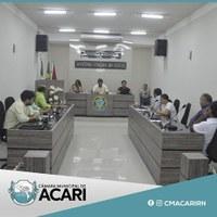 Na sétima sessão ordinária realizada na última terça-feira (21) o plenário da Câmara Municipal de Acari aprovou uma série de indicações e Projetos de Lei.