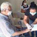 Nesta sexta-feira (23) foi o dia do senhor Francisco José Dantas, de 96 anos, fazer a sua Identidade.