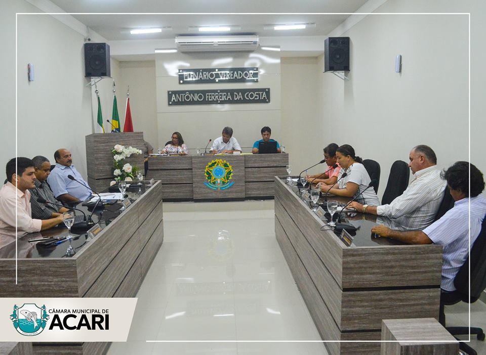 O plenário da Câmara Municipal de Acari aprovou uma série de Indicações e Projetos de Lei na 3ª sessão ordinária realizada na última terça-feira (14).