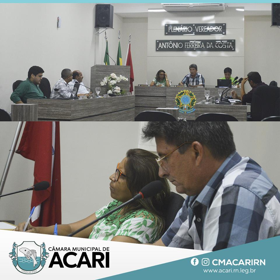 O plenário da Câmara Municipal de Acari aprovou uma série de Indicações na 13ª sessão ordinária realizada na última terça-feira (02)