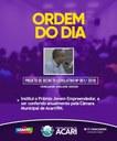 Ordem do Dia da 11ª Sessão Ordinária do 2º Período Legislativo de 2018