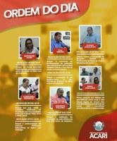 Ordem do Dia da 5ª Sessão Ordinária do 1º Período Legislativo de 2019