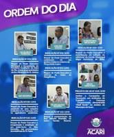 Ordem do Dia da 6ª Sessão Ordinária do 1º Período Legislativo de 2019