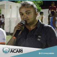 Por solicitação do Vereador Bada Lima e aval do Plenário, hoje o secretário municipal de Desenvolvimento Econômico, Turismo, Desporto e Lazer, Rodrigues de Naldo