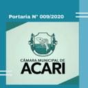 Portaria regulamenta prorrogação da suspensão de atividades na Câmara de Acari
