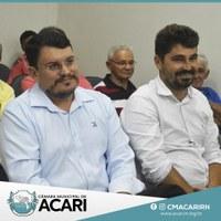 PREFEITO DA CIDADE DE PARELHAS CONHECE DE PERTO OS TRABALHOS DA CÂMARA MUNICIPAL DE ACARI