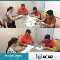 PRESIDENTE DA CÂMARA DE ACARI DÁ POSSE AOS PRIMEIROS CANDIDATOS APROVADOS NO CONCURSO PÚBLICO