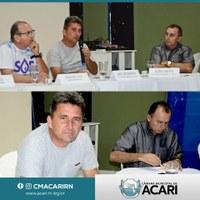 PRESIDENTE DA CÂMARA DE VEREADORES DE ACARI PARTICIPA DE AUDIÊNCIA PÚBLICA SOBRE ADUTORA