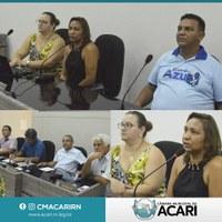 PRESTAÇÃO DE CONTAS DA SAÚDE É APRESENTADA NA CÂMARA MUNICIPAL DE ACARI
