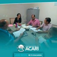 Comissão de Constituição, Legislação, Justiça, Finanças e Tributação analisa projetos de lei do Poder Executivo