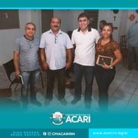 Reunião no Sindicato dos Trabalhadores e Trabalhadoras Rurais de Acari.