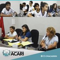 SEGUNDA SESSÃO DO PROJETO CÂMARA MIRIM ACONTECE HOJE