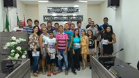 Solenidade de entrega dos certificados aos alunos concluintes do Curso de informática.