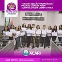 TERCEIRA SESSÃO ORDINÁRIA DO PROJETO CÂMARA MIRIM ACONTECE NESTA QUARTA-FEIRA