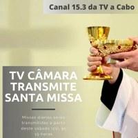 TV Câmara de Acari exibe missa a partir de hoje
